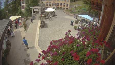 Davos Schatzalp Vorplatz