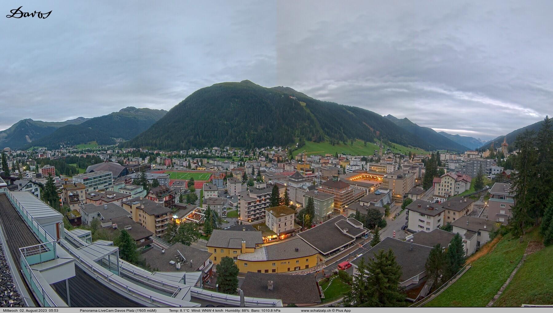 Davos Schatzalp nach Platz
