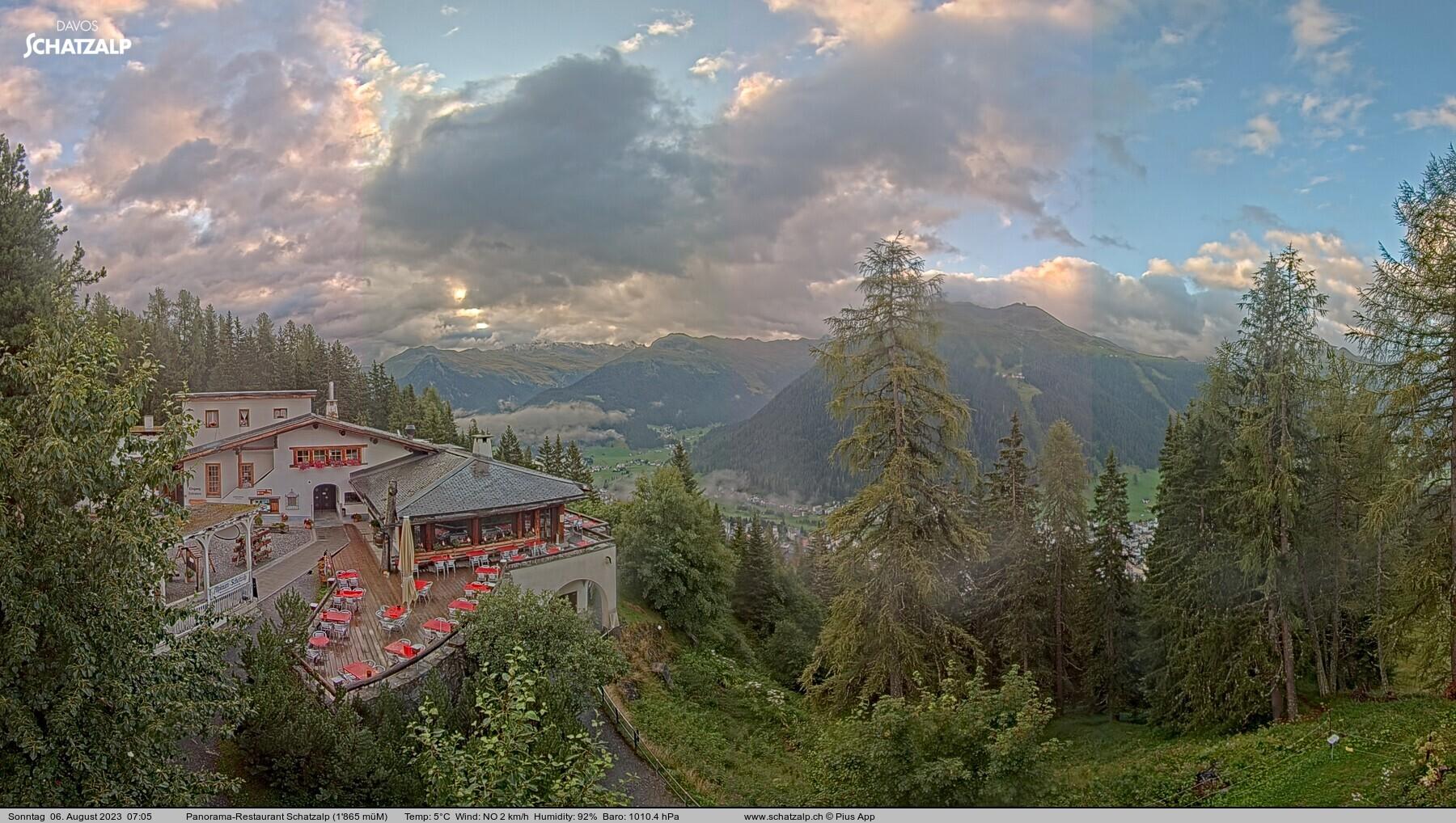 Davos Schatzalp Panoramarestau