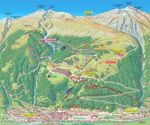 Schatzalp Sommer Karte