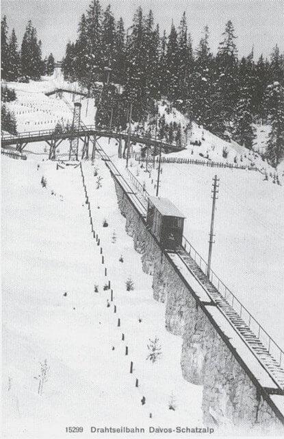 Schatzalpbahn um 1900