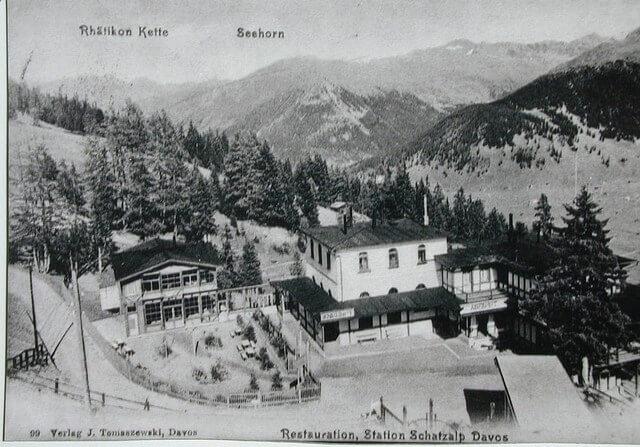 Drahtseilbahn Bergstation
